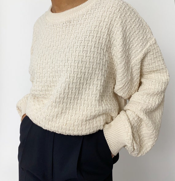 Vintage '90s Oversized Chunky Sweater