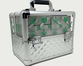 Weed Box Magic Pot Box Safe and Locked with Key, Weed Medicine Cabinet, Custom Designed Stash Box, to Organize your Stash