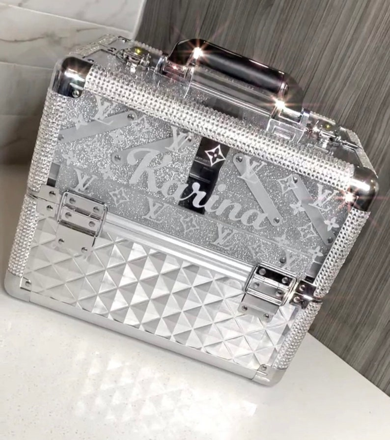 Blinged Custom Box Luxury Brand Design personal items work image 0