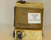 Small Batch Handcrafted honey soap, cold process soap, homemade soap,  handmade soap, all natural soap, gift soap, artisan soap