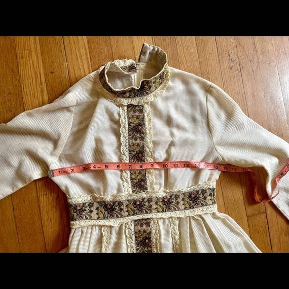 60s Vintage Gunne Sax Prairie Dress - image 6