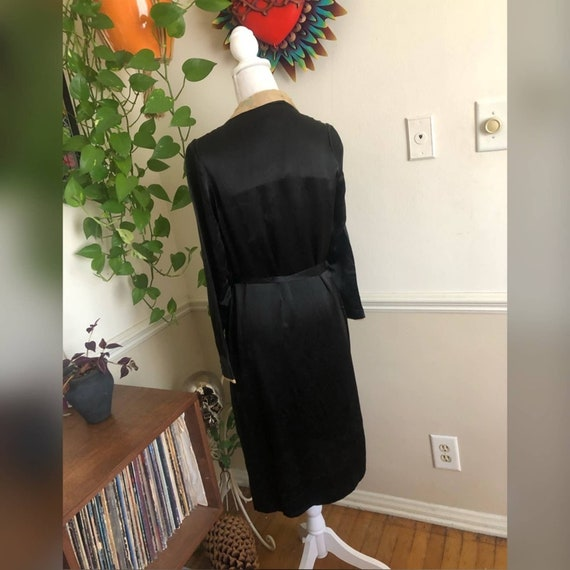 20s Vintage Welmade Satin Flapper Dress - image 2