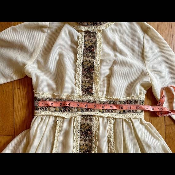 60s Vintage Gunne Sax Prairie Dress - image 5
