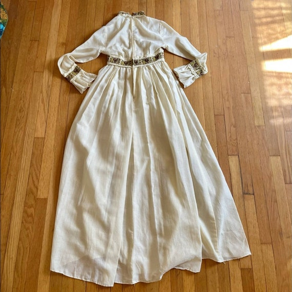 60s Vintage Gunne Sax Prairie Dress - image 8