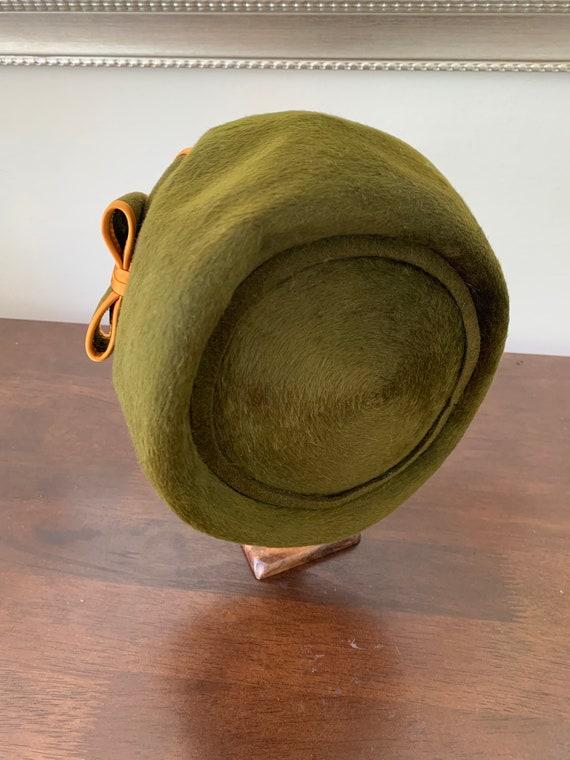Elsa Schiaparelli vintage beaver fur hat