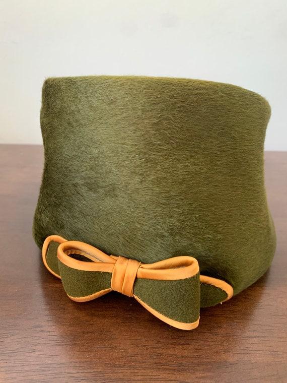 Elsa Schiaparelli vintage beaver fur hat - image 7