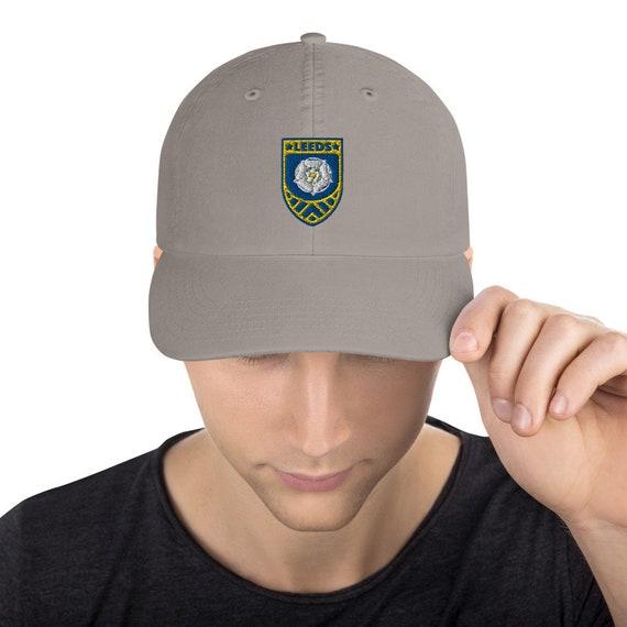 Cap Hat Leeds United Styled Champion x Leeds Plus Peacock Smiley