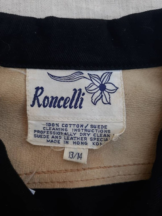 Vintage Roncelli Jacket - image 4