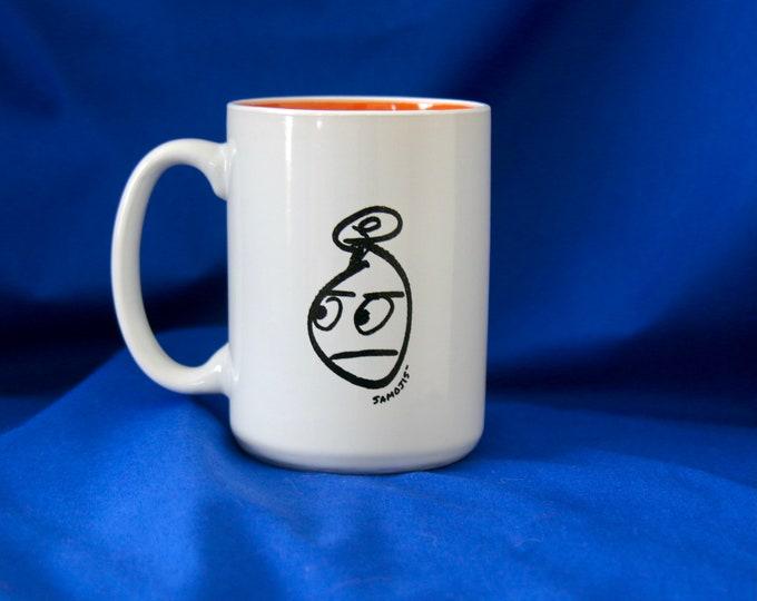 Mr Samoji Logo Mug