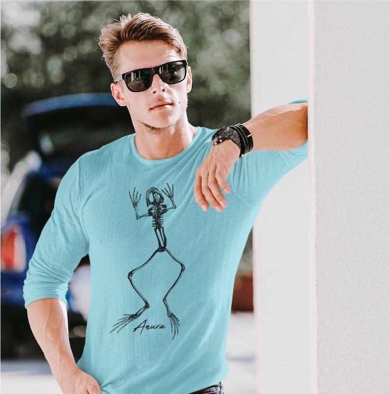 Anura ~ Frog Skeleton Long Sleeve T-Shirt