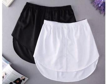Shirt Extender, Mini Skirt, Dress Extender, Inner Skirt Woman