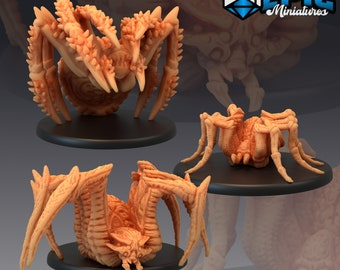 Giant Spider Miniature, High Quality Tabletop RPG 3D Printed (Dungeons and Dragons, Pathfinder and Warhammer)