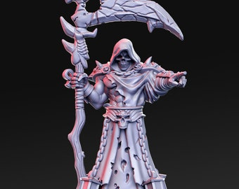 Hades Miniature, High Quality 28mm 32mm Tabletop RPG 3D Printed, Great for Dungeons and Dragons, Pathfinder and Warhammer