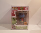DR. Seuss The Grinch, The Grinch As Santa Claus Chase Pop Books Funko Pop 12