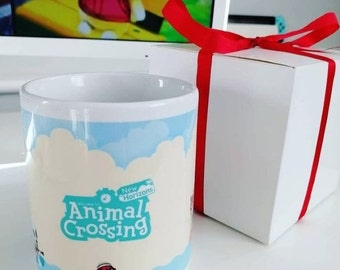 Animal Crossing New Horizons Nooks Getaway Package Island Mug