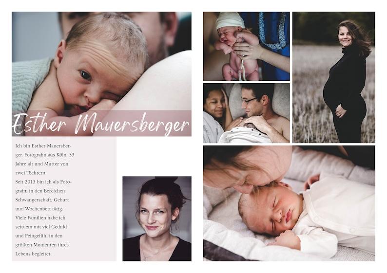Mural Photography Print Newborn 009438