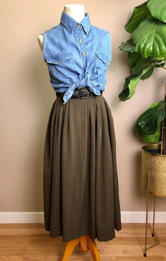 walnut tulip skirt