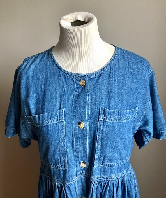 denim market dress