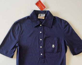 Polo Courrèges homme / dead stock vintage 70s / made in France