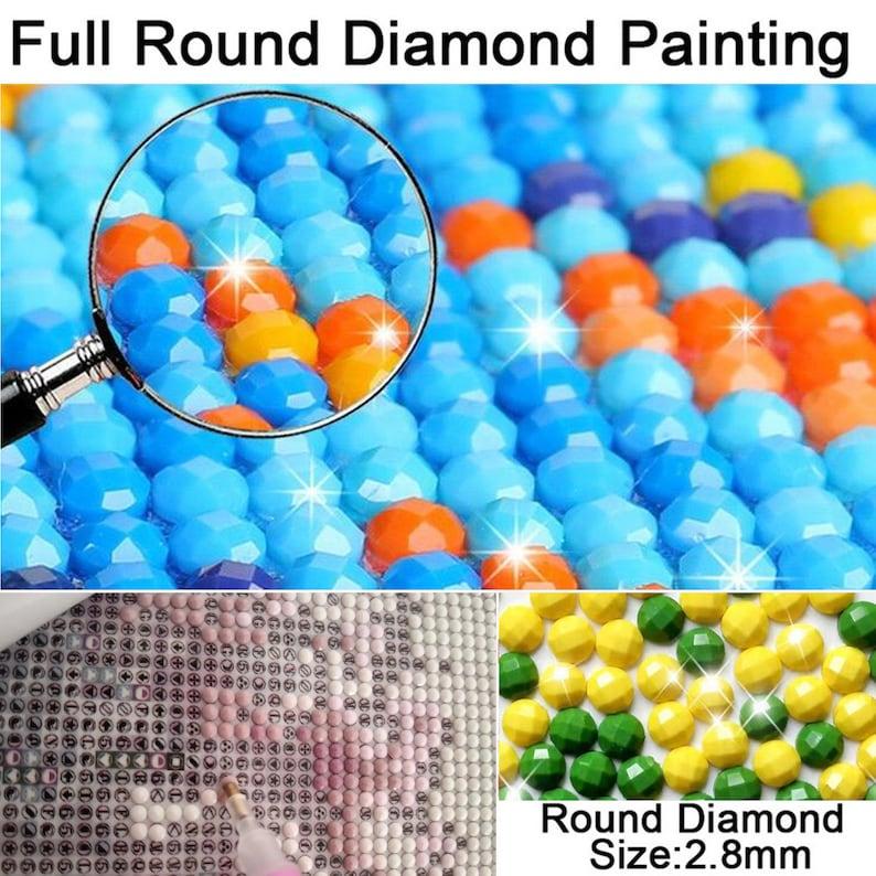Full Diamonds 5D DIY Diamond Painting Frozen Embroidery Set Cross Stitch Crafts Family Mural