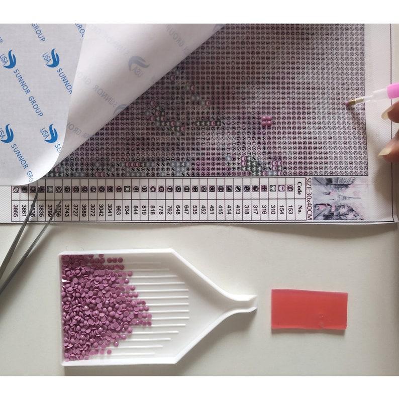 Family Mural Full Diamonds 5D DIY Diamond Painting Sunset Lighthouse Embroidery Set Cross Stitch Crafts