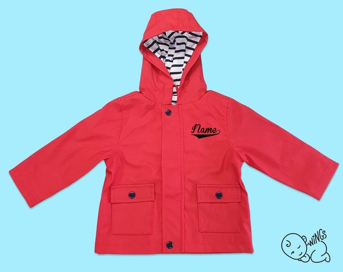 Red Raincoat (Personalised)
