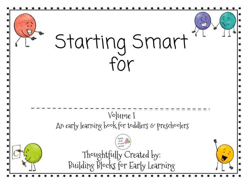 Starting Start Busy Book