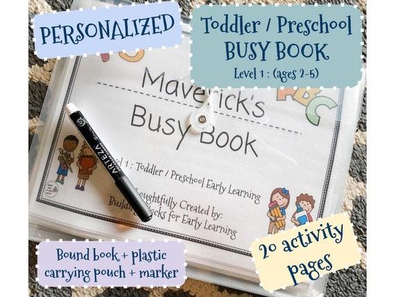 Level 1 : Toddler / Preschool Busy Book
