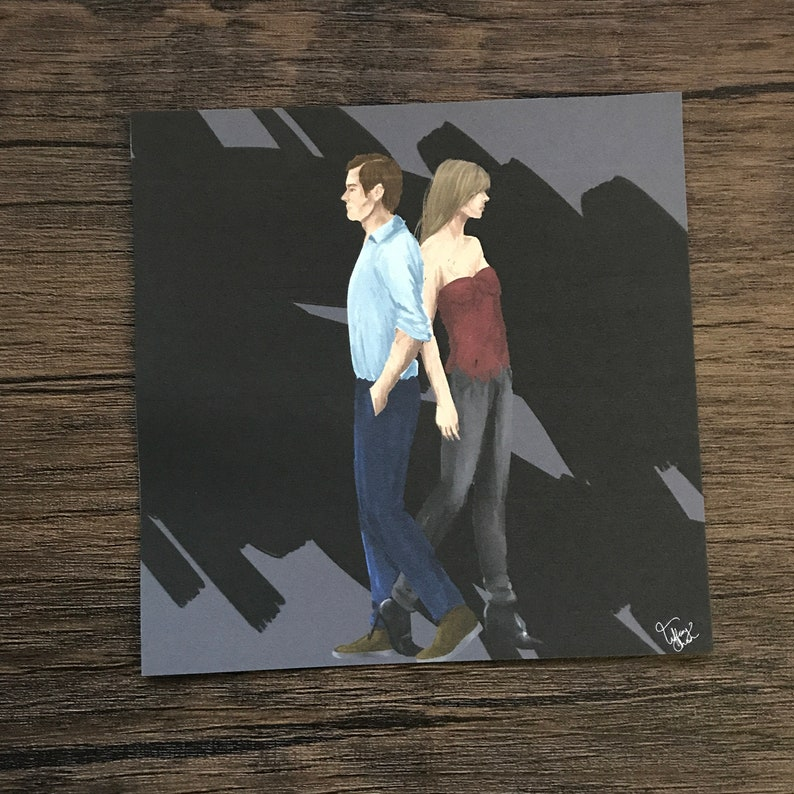 040 The Through  Art Print  5 x 5 inches  Clow Card Series image 0