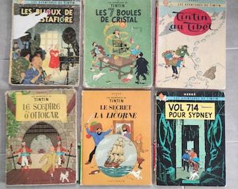 Vintage French, Tintin's 6-pound set