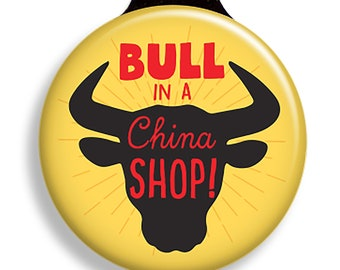 Like a Bull in a China Shop Onesie