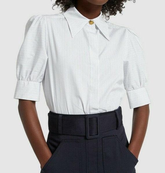 Authentic New Stella Mccartney Puff Sleeve Button
