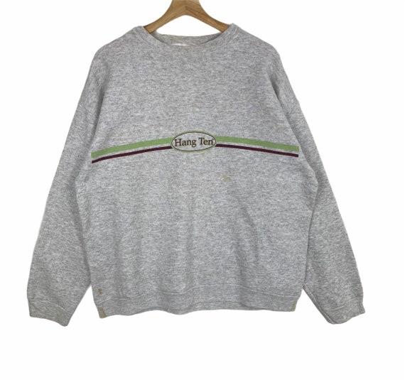 HANG TEN Printed Small Logo Crew Neck Sweatshirt H