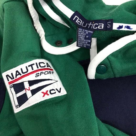 Vintage NAUTICA SPORT XCV Sailing Sweatshirt Embro