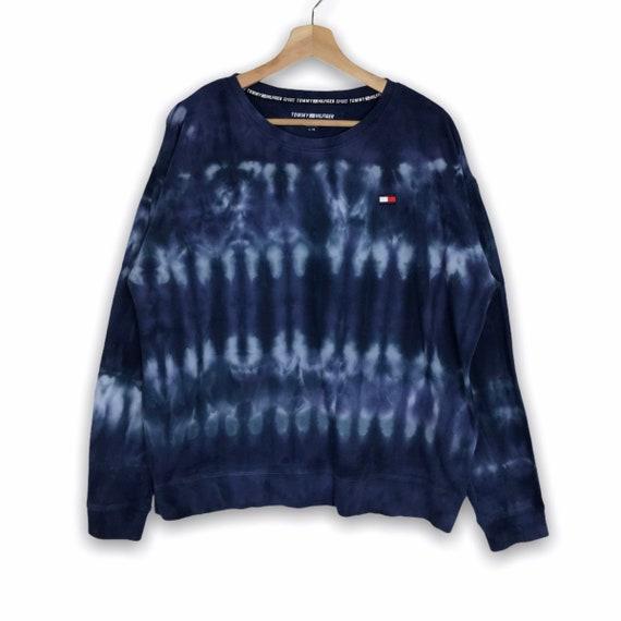 TOMMY HILFIGER SPORT Tie Dye Sweatshirt Embroidery