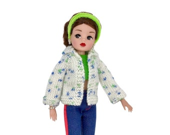 Knitted Cardigan for Sindy dolls