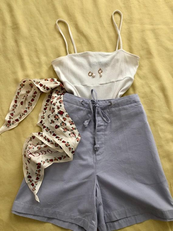 Vintage Lands End lavender shorts