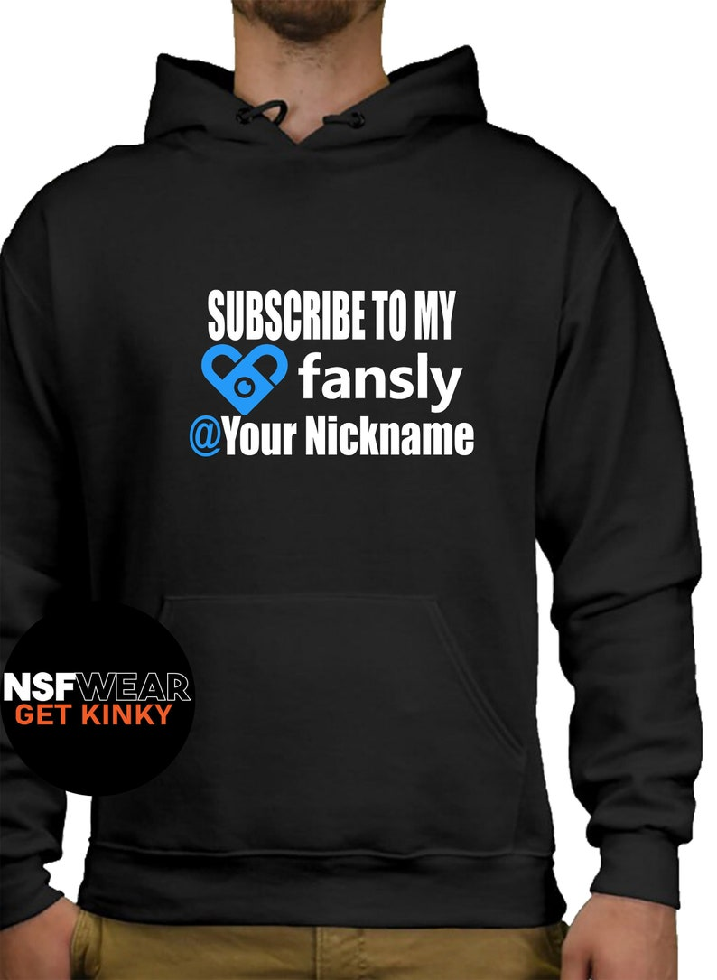 Subscribe to My Fansly Hoodie Sexy Pornstar Camgirl image 0