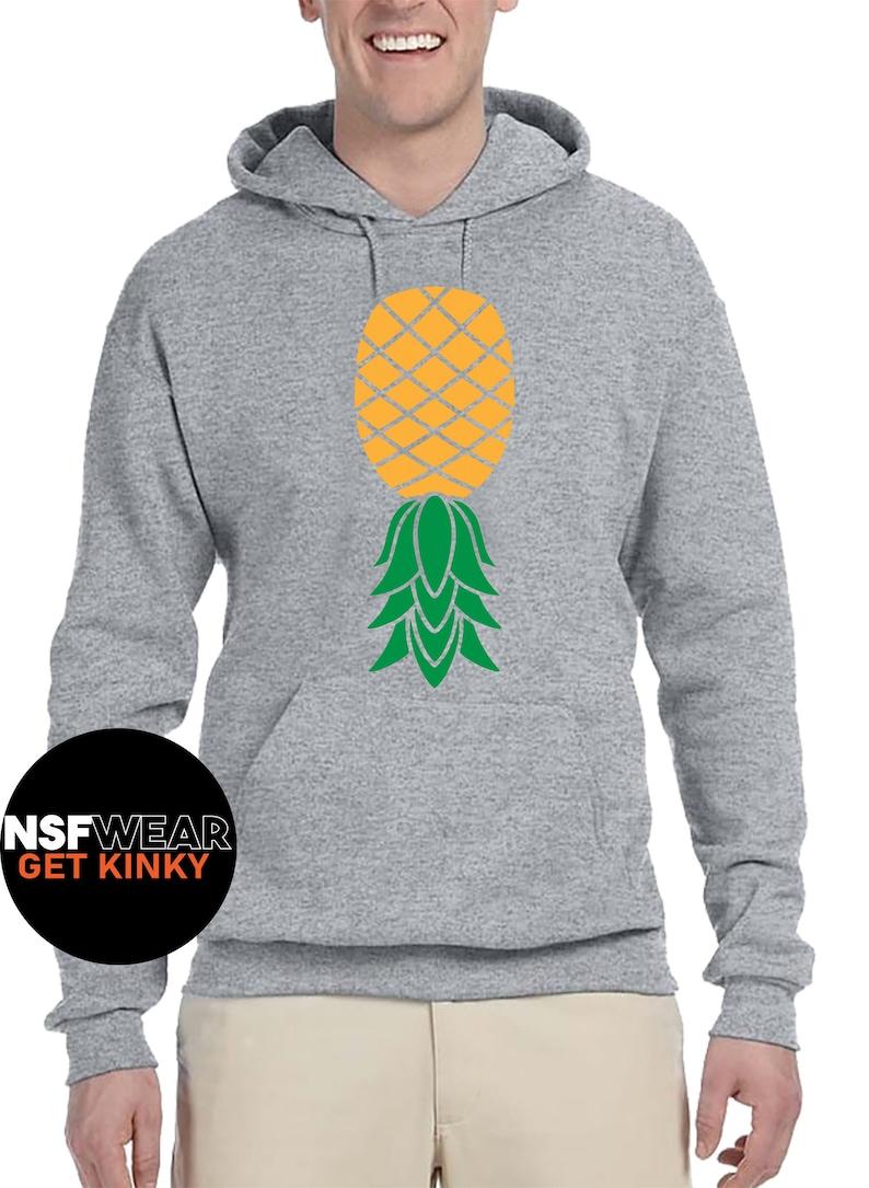 Swinger Lifestyle Pineapple T-Shirt Tanktop Cami or Apron image 0