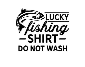 Download Lucky Fishing Svg Etsy
