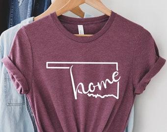 Oklahoma Home Shirt Oklahoma Gift Shirt Oklahoma Shirt Comfort Colors Oklahoma Comfort Colors shirt