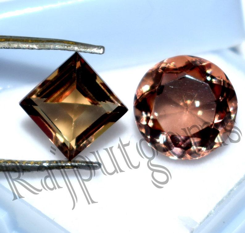 Turkish Zultanite Natural Loose gemstone Mix Round /& Princess Shape Color Changing stone Certified Rare Stone valenti 4 to 6 Ct