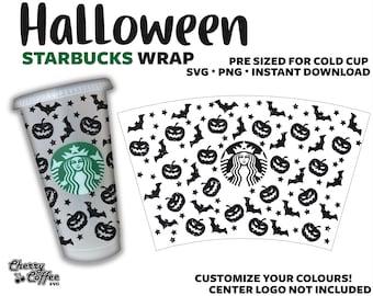 Fall Pumpkin Decal Starbucks Grande Coffee Svg Png File Etsy