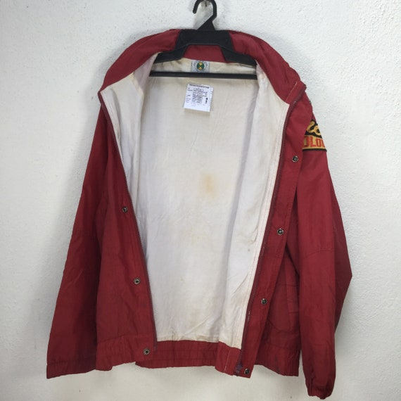 Vintage CROSS COLOURS WINDBREAKER Jacket Large Si… - image 5