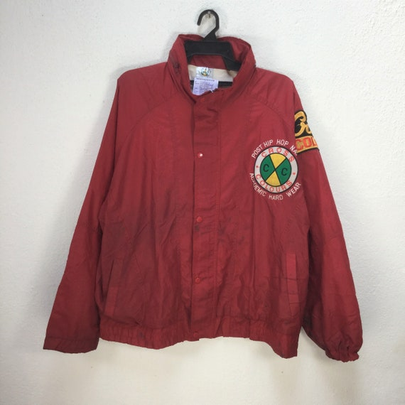Vintage CROSS COLOURS WINDBREAKER Jacket Large Si… - image 2