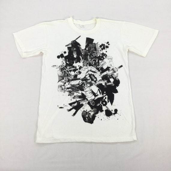 Japanese Anime NEON GENESIS EVANGELION  T-shirt Xs