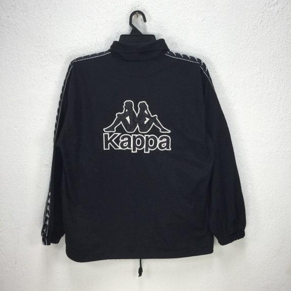 Sweater fleece kappa sidetape