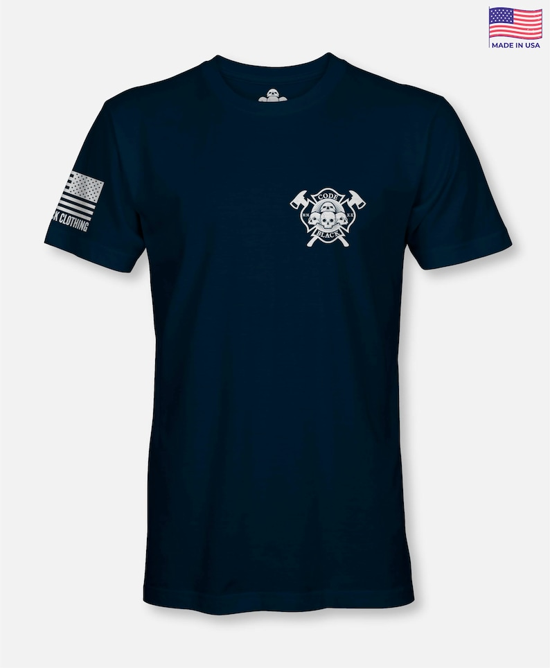 Los Angeles County Paramedic T Shirt Navy color Front Line Graphic Tee Gift Hero Uniform EMS T-Shirt First Responder Shirt