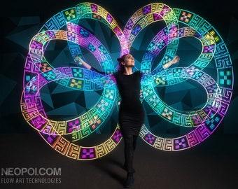 NeoPoi Mini 12 - LED Pixel Poi, Glow poi