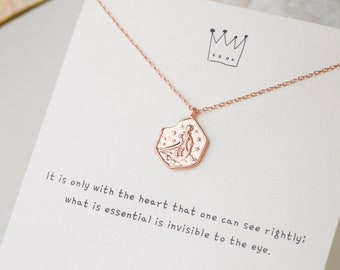 KIT little prince BRACELET and 19 cm silver ball chain accessories